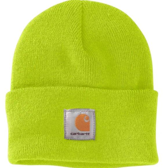 Carhartt Accessories - Neon Carhartt Acrylic Watch Hat 25cc5ea9e215